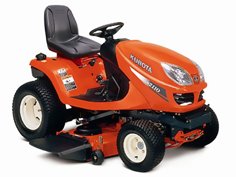 Kubota GR series residential mower