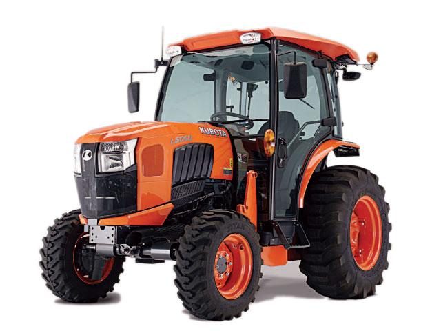 Kubota L-series tractor