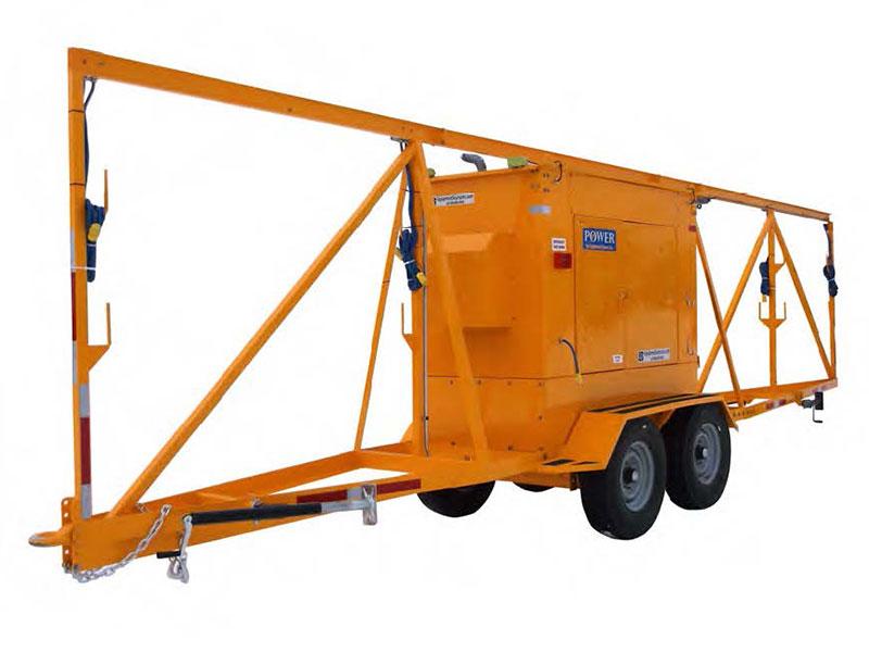 Bull rail trailer by ESI