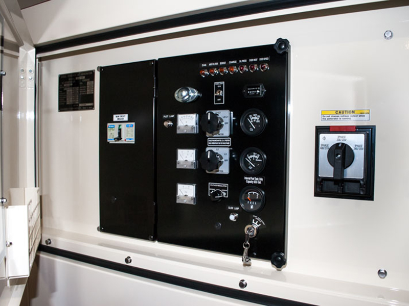 Shindaiwa DGK100D 100kVA/80kW control panel