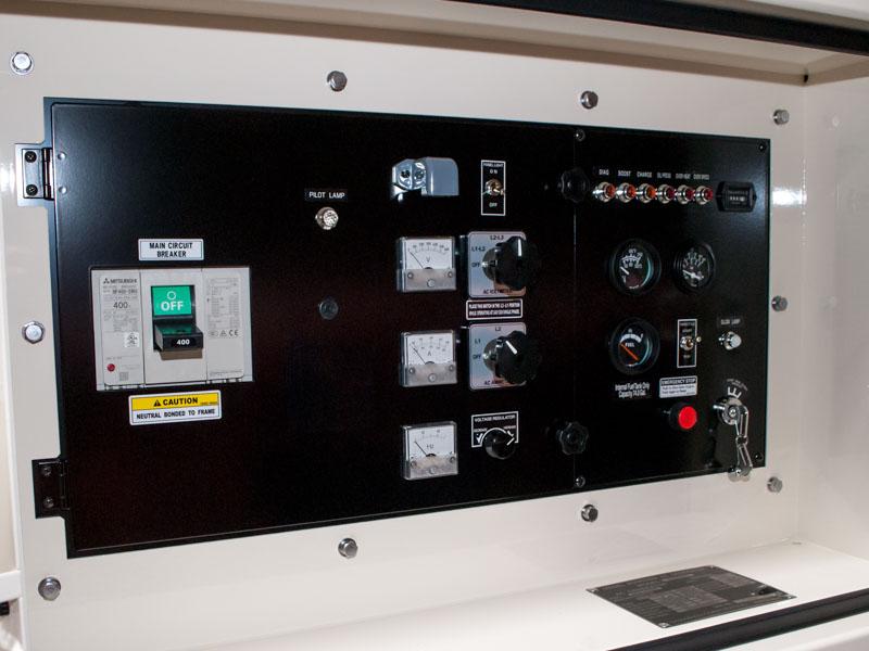 Shindaiwa DGK150D 120kVA/96kW control panel