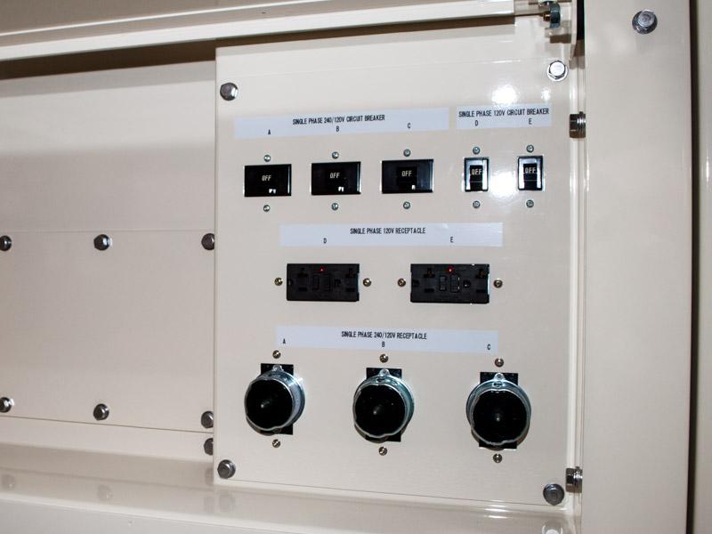 Shindaiwa DGK150D 120kVA/96kW connection panel