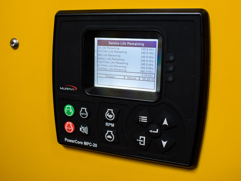Easy to operate Murphy controller on the ES-FLS Flameless heater by ESI