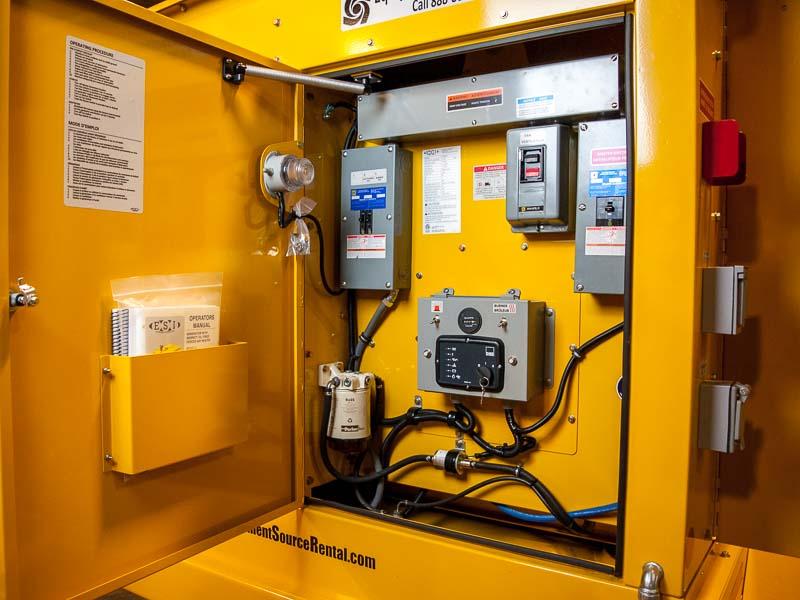 ES700 control panel