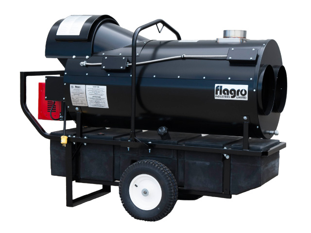 Flagro 400 indirect fired heater