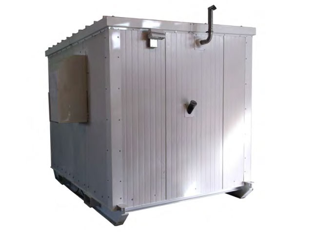 Walk-in module with fork pockets
